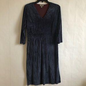 (NWT) Chelsea28 Ribbed Velour Feel Dress